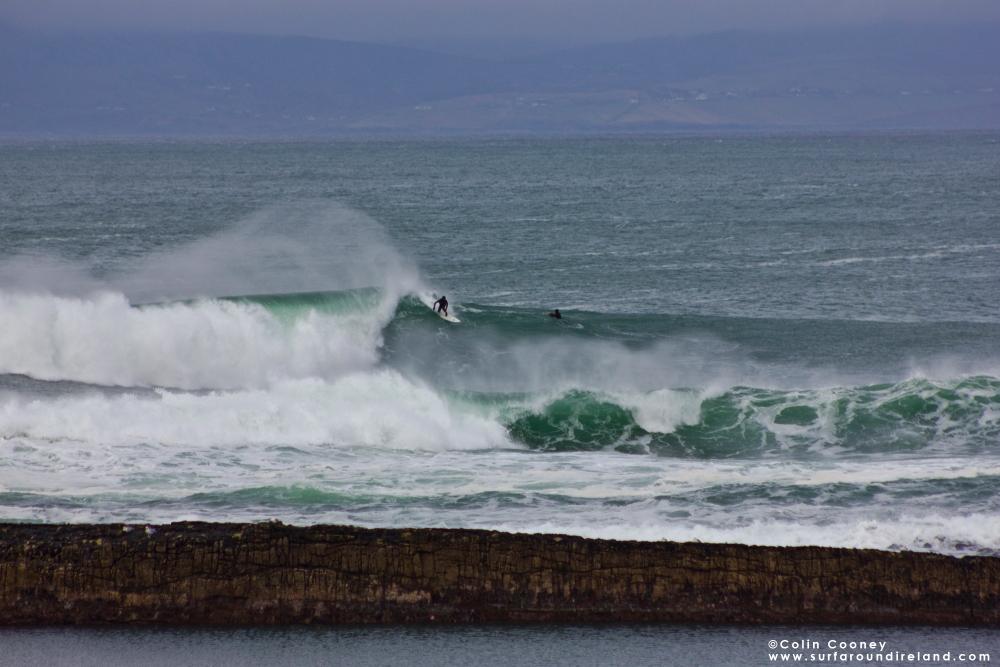 Mullaghmore, Sligo Surfing
