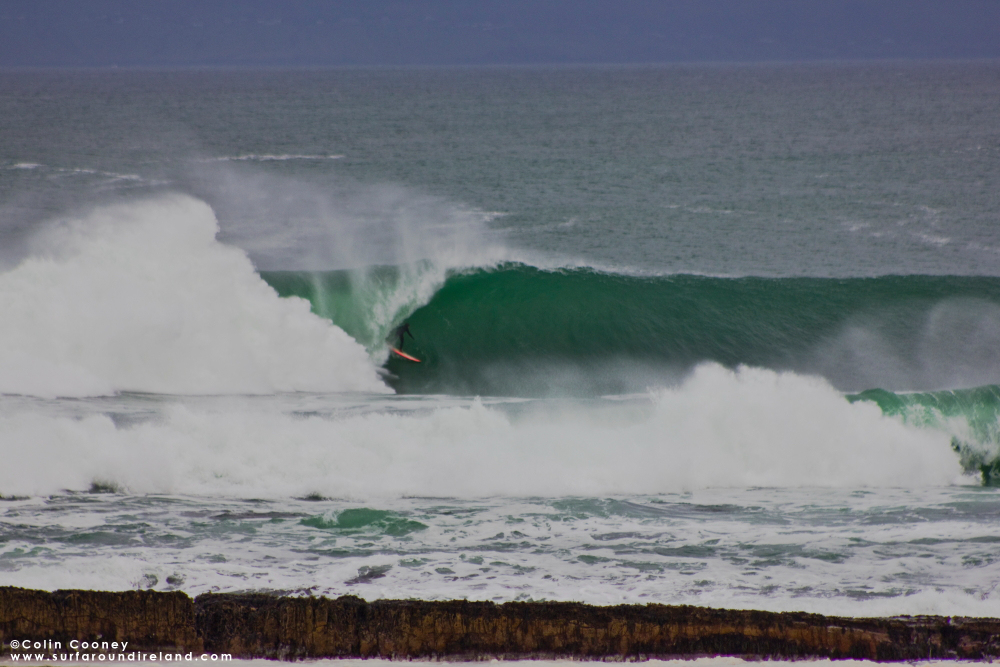 Surfing Mullaghmore