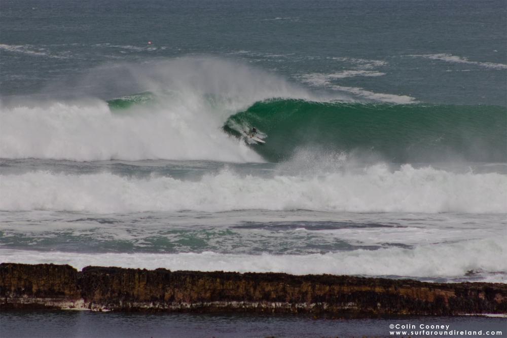 Kurt Rist Surfing Mullaghmore