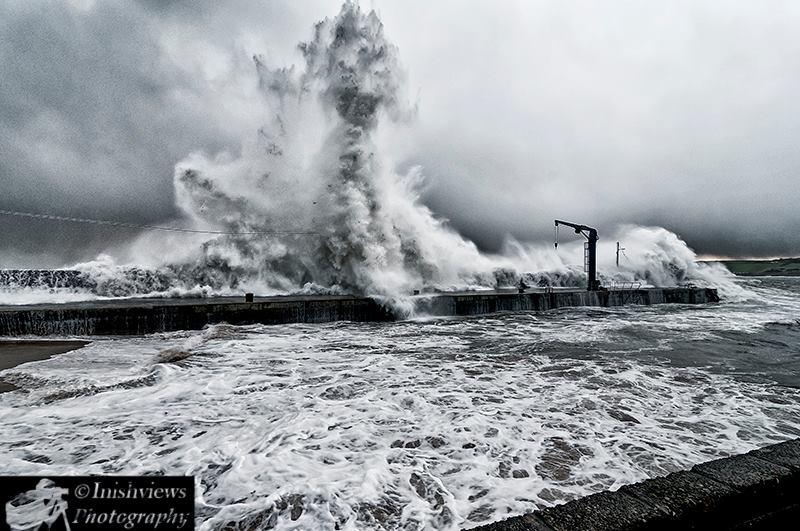 Bunagee pier in Culdaff. Photo: Carndonagh Camera Club